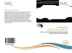 Portada del libro de Ubuntu for Android