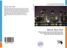 Bookcover of Maine, New York