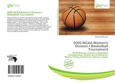 Обложка 2000 NCAA Women's Division I Basketball Tournament