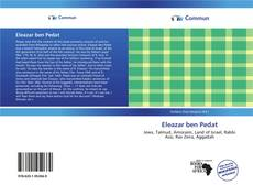 Bookcover of Eleazar ben Pedat
