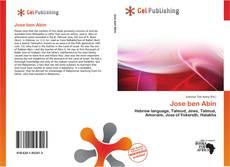 Buchcover von Jose ben Abin