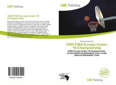 Bookcover of 1999 FIBA Europe Under-16 Championship