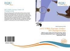 Capa do livro de 2012 FIBA Europe Under-20 Championship