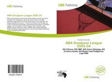 Buchcover von ABA Goodyear League 2003–04