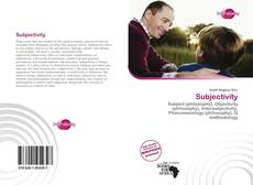 Bookcover of Subjectivity
