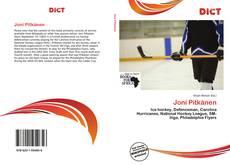Bookcover of Joni Pitkänen