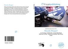 Couverture de Nicola Riopel
