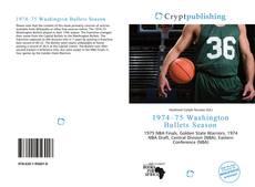Borítókép a  1974–75 Washington Bullets Season - hoz