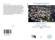 Borítókép a  Saïda, Algeria - hoz