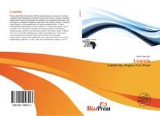 Capa do livro de Luanda