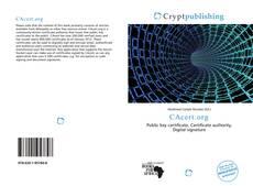 Copertina di CAcert.org