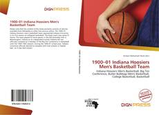 Portada del libro de 1900–01 Indiana Hoosiers Men's Basketball Team