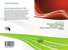 Abruzzo Regional Election, 1985 kitap kapağı