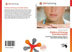 Bookcover of Politics of Energy Transformation