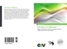 Bookcover of Elections in Abruzzo