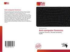 Copertina di Anti-computer Forensics