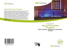 Abuse Prevention Program kitap kapağı