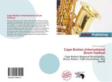 Bookcover of Cape Breton International Drum Festival