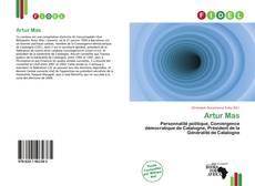 Capa do livro de Artur Mas