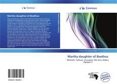 Buchcover von Martha daughter of Boethus
