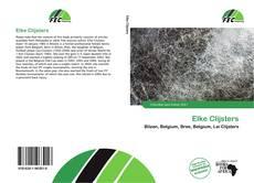 Bookcover of Elke Clijsters