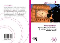 Bookcover of Americentrism