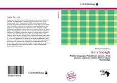 Bookcover of Anis Sayigh