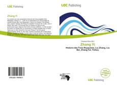 Bookcover of Zhang Yi