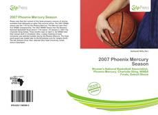 Bookcover of 2007 Phoenix Mercury Season