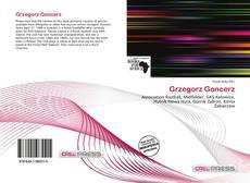 Bookcover of Grzegorz Goncerz
