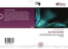 Bookcover of Luis Durnwalder