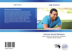 Bookcover of Chinese Social Relations