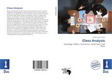 Bookcover of Class Analysis