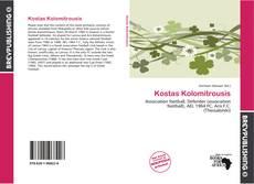 Capa do livro de Kostas Kolomitrousis