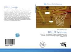 Buchcover von 2003–04 Euroleague