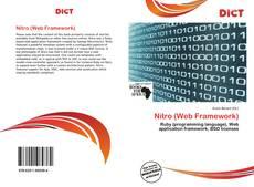 Portada del libro de Nitro (Web Framework)