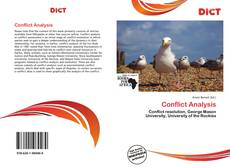 Bookcover of Conflict Analysis