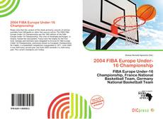 Bookcover of 2004 FIBA Europe Under-16 Championship