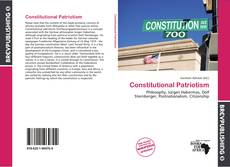 Couverture de Constitutional Patriotism