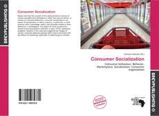 Bookcover of Consumer Socialization