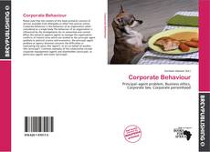 Bookcover of Corporate Behaviour