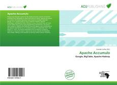 Bookcover of Apache Accumulo