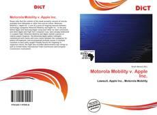 Borítókép a  Motorola Mobility v. Apple Inc. - hoz