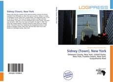 Bookcover of Sidney (Town), New York