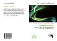 Bookcover of Emmanuel Blamires