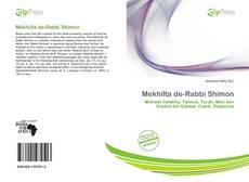 Bookcover of Mekhilta de-Rabbi Shimon