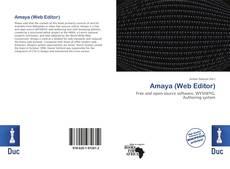 Portada del libro de Amaya (Web Editor)