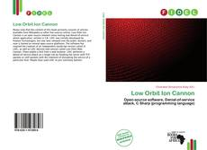 Portada del libro de Low Orbit Ion Cannon