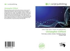 Bookcover of Christopher Clifford