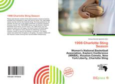 Bookcover of 1998 Charlotte Sting Season